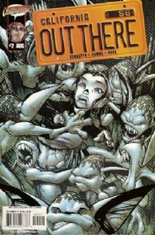 Cover of Out There (Vol 1) California #2. One of 250,000 Vintage American Comics on sale from Krypton!