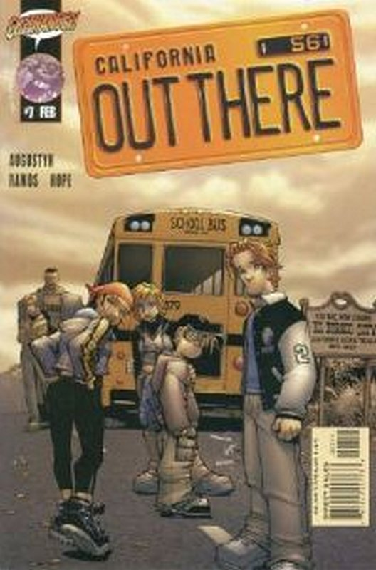 Cover of Out There (Vol 1) California #7. One of 250,000 Vintage American Comics on sale from Krypton!