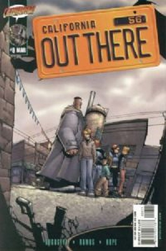 Cover of Out There (Vol 1) California #8. One of 250,000 Vintage American Comics on sale from Krypton!