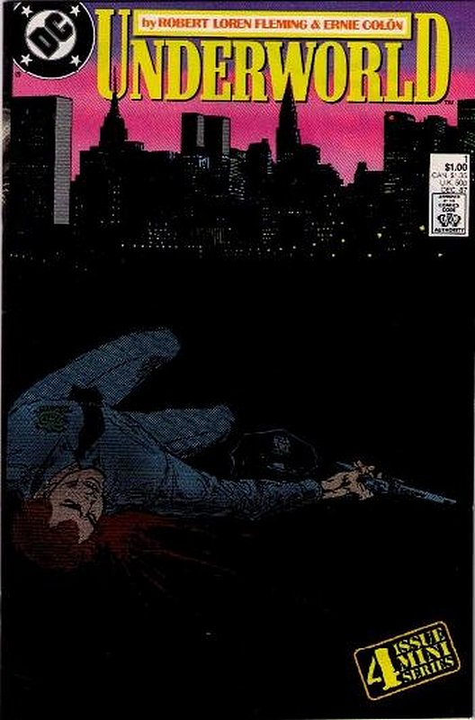 Cover of Underworld (1987 Ltd) #1. One of 250,000 Vintage American Comics on sale from Krypton!
