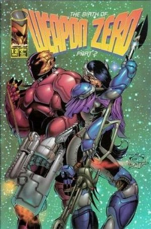 Cover of Weapon Zero (1995 Ltd) #3. One of 250,000 Vintage American Comics on sale from Krypton!