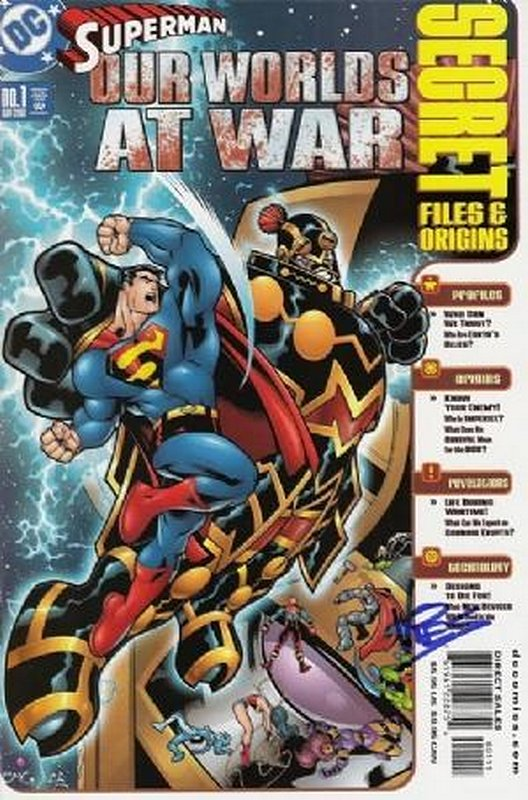 Cover of Superman: Our World at War Secret Files #1. One of 250,000 Vintage American Comics on sale from Krypton!
