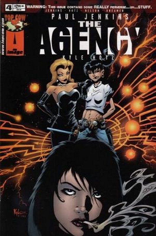 Cover of Agency (Vol 1) The #4. One of 250,000 Vintage American Comics on sale from Krypton!