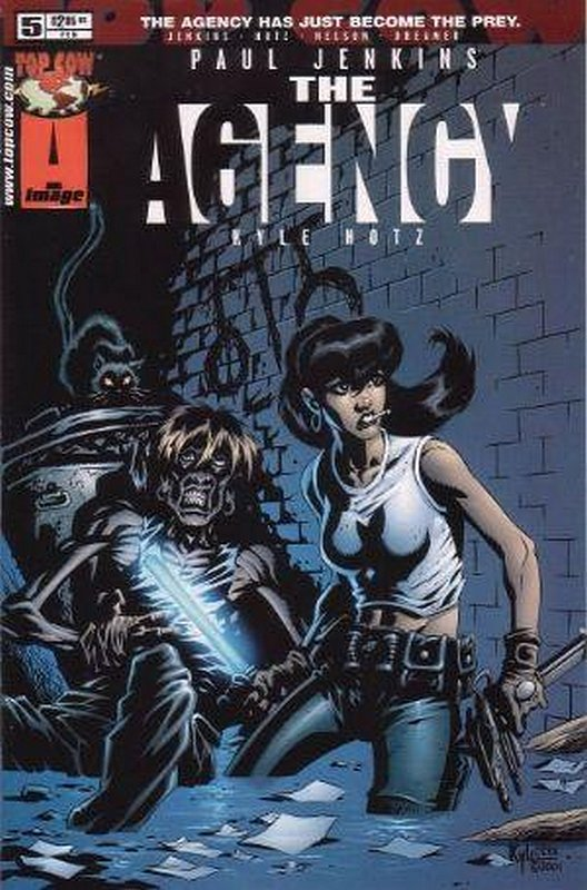 Cover of Agency (Vol 1) The #5. One of 250,000 Vintage American Comics on sale from Krypton!