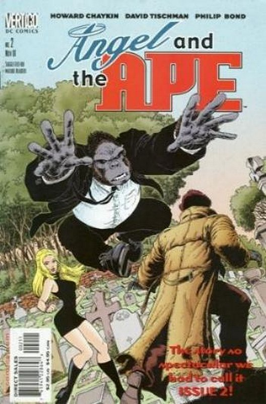 Cover of Angel & The Ape (2001 Ltd) #2. One of 250,000 Vintage American Comics on sale from Krypton!