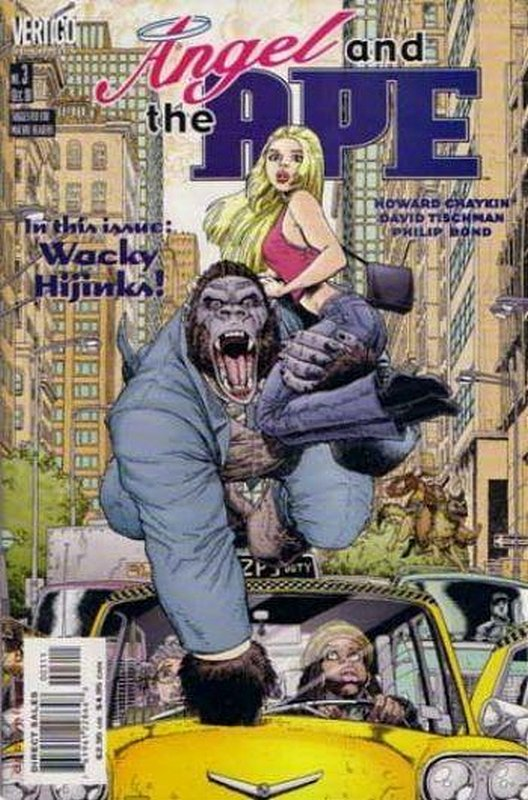 Cover of Angel & The Ape (2001 Ltd) #3. One of 250,000 Vintage American Comics on sale from Krypton!