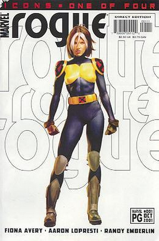 Cover of Rogue (2001 Ltd) #1. One of 250,000 Vintage American Comics on sale from Krypton!