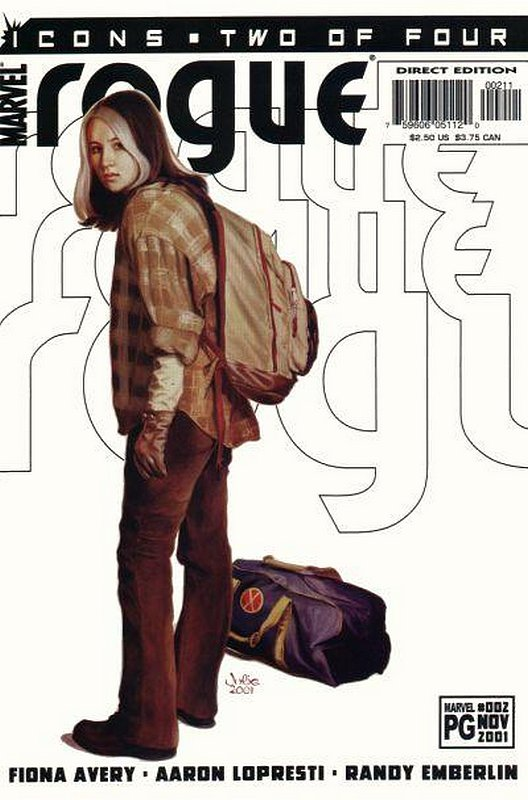 Cover of Rogue (2001 Ltd) #2. One of 250,000 Vintage American Comics on sale from Krypton!