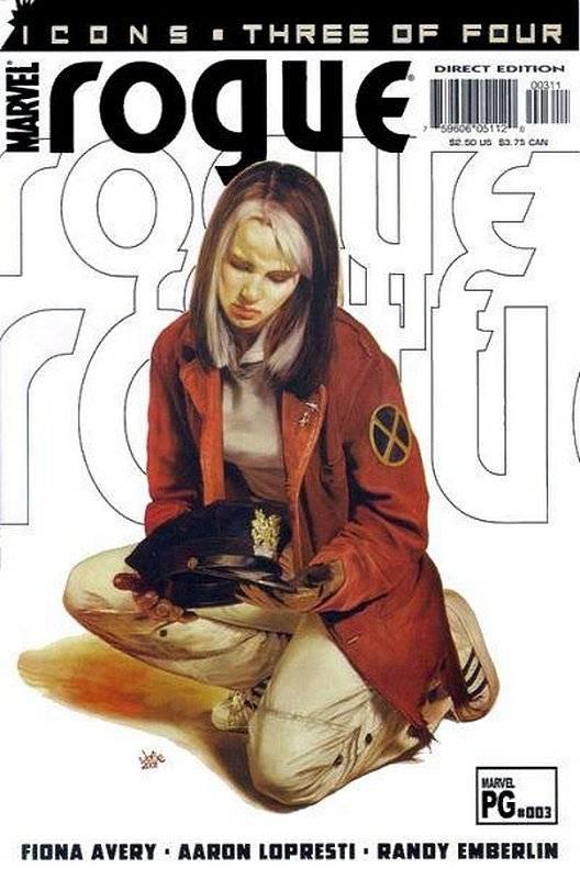 Cover of Rogue (2001 Ltd) #3. One of 250,000 Vintage American Comics on sale from Krypton!