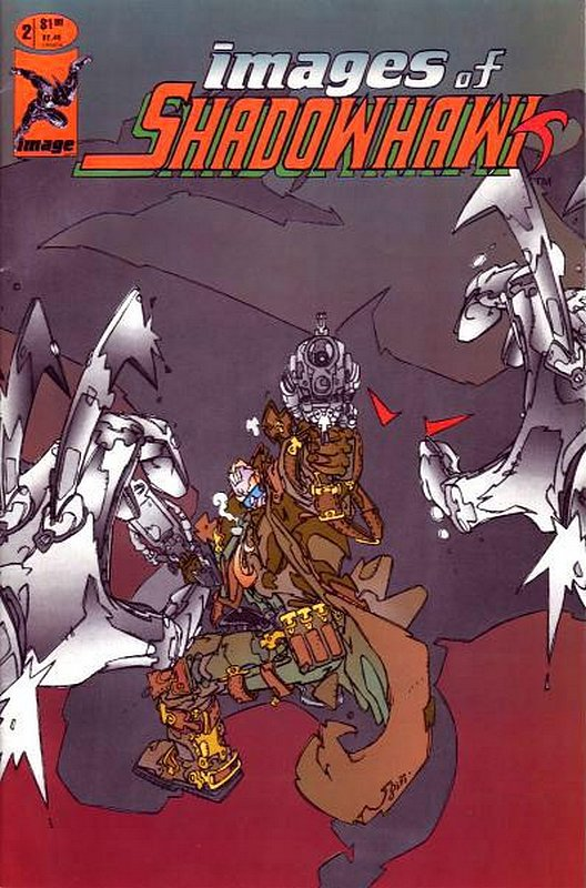 Cover of Shadowhawk (1993 Ltd) Images of #2. One of 250,000 Vintage American Comics on sale from Krypton!