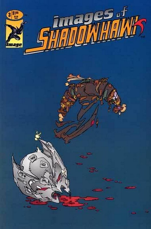 Cover of Shadowhawk (1993 Ltd) Images of #3. One of 250,000 Vintage American Comics on sale from Krypton!