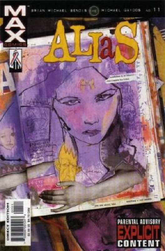 Cover of Alias (Vol 1) #11. One of 250,000 Vintage American Comics on sale from Krypton!