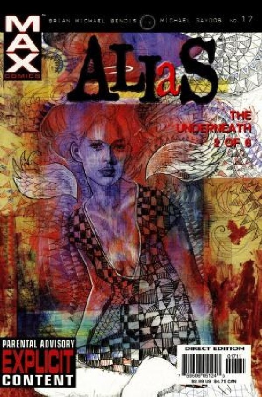 Cover of Alias (Vol 1) #17. One of 250,000 Vintage American Comics on sale from Krypton!