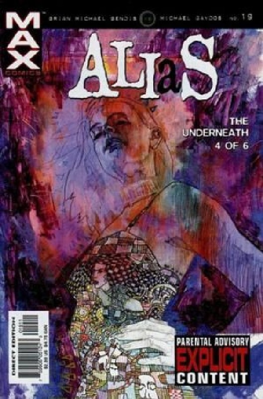 Cover of Alias (Vol 1) #19. One of 250,000 Vintage American Comics on sale from Krypton!