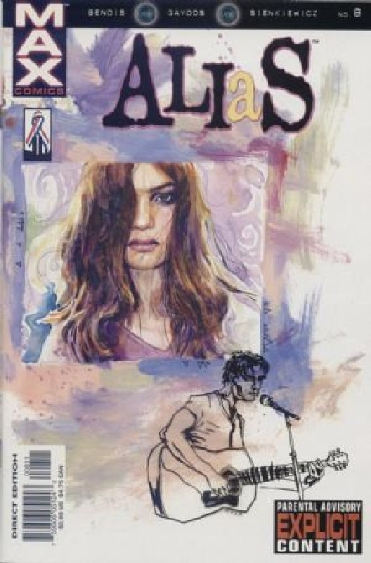 Cover of Alias (Vol 1) #8. One of 250,000 Vintage American Comics on sale from Krypton!