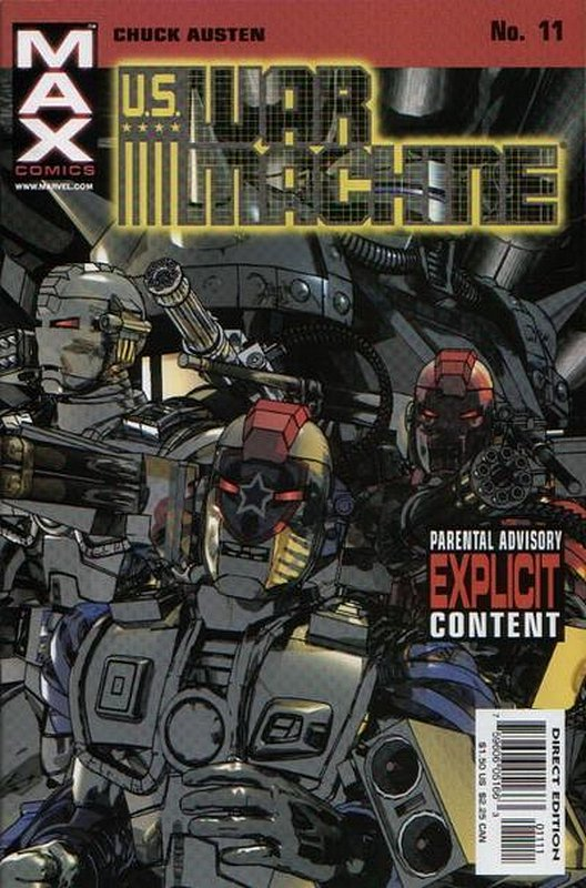Cover of US War Machine (2001 Ltd) #11. One of 250,000 Vintage American Comics on sale from Krypton!