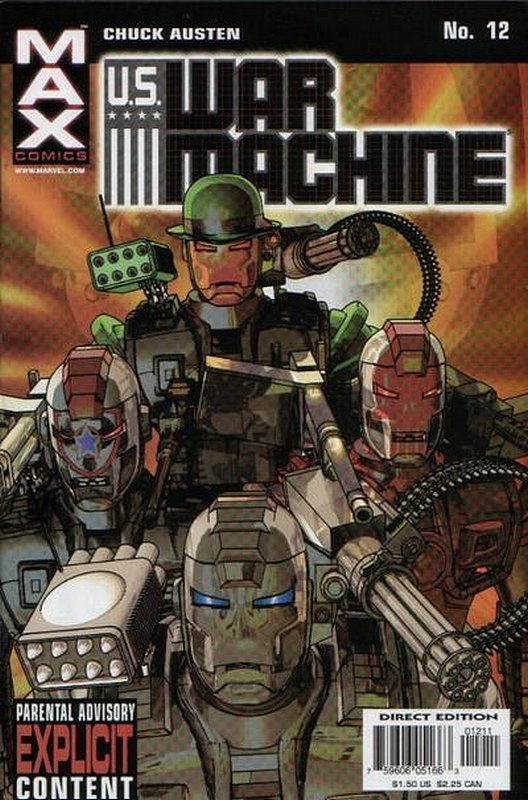 Cover of US War Machine (2001 Ltd) #12. One of 250,000 Vintage American Comics on sale from Krypton!