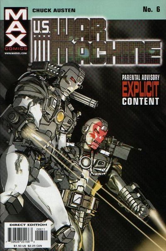 Cover of US War Machine (2001 Ltd) #6. One of 250,000 Vintage American Comics on sale from Krypton!