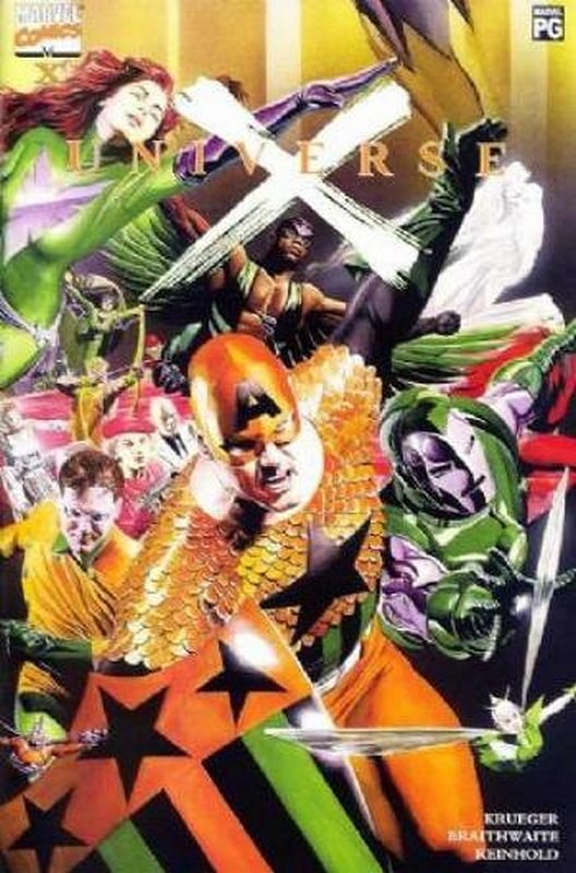 Cover of Universe X: X (2001 One Shot) #1. One of 250,000 Vintage American Comics on sale from Krypton!