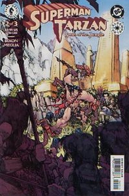 Cover of Superman/Tarzan: Sons of the Jungle (2001 Ltd) #2. One of 250,000 Vintage American Comics on sale from Krypton!