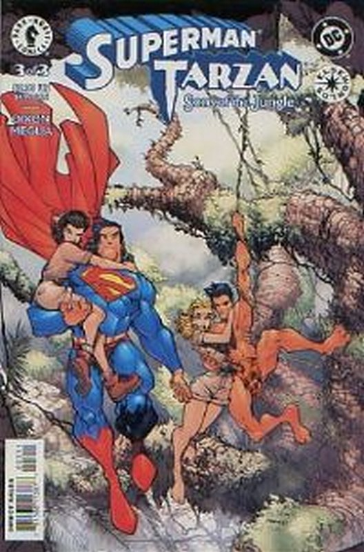 Cover of Superman/Tarzan: Sons of the Jungle (2001 Ltd) #3. One of 250,000 Vintage American Comics on sale from Krypton!