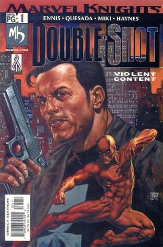 Cover of Marvel Knights Double Shot (2001 Ltd) #1. One of 250,000 Vintage American Comics on sale from Krypton!