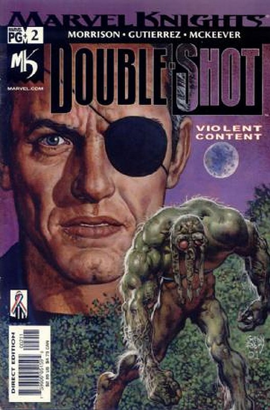 Cover of Marvel Knights Double Shot (2001 Ltd) #2. One of 250,000 Vintage American Comics on sale from Krypton!