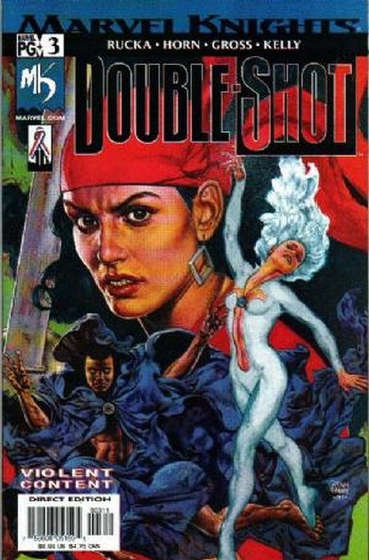 Cover of Marvel Knights Double Shot (2001 Ltd) #3. One of 250,000 Vintage American Comics on sale from Krypton!