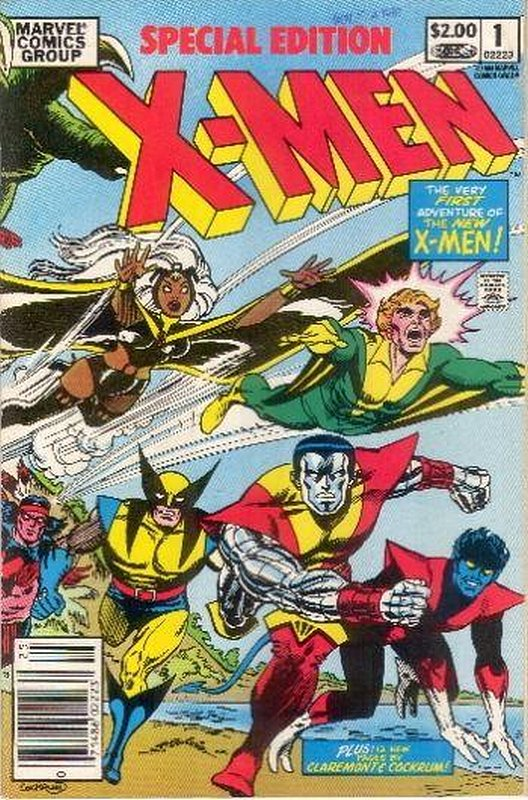Cover of X-Men Special Edition (1983 One Shot) #1. One of 250,000 Vintage American Comics on sale from Krypton!