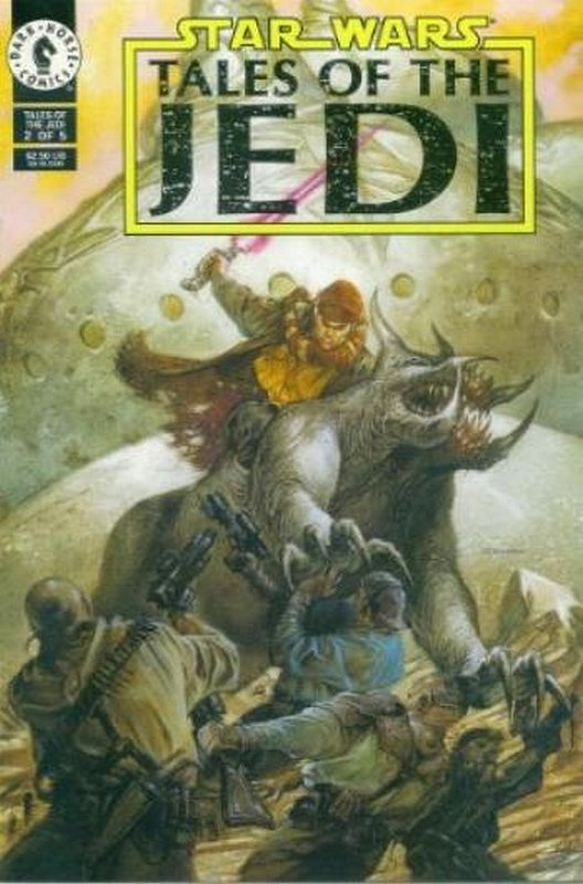 Cover of Star Wars: Tales of the Jedi (1993 Ltd) #2. One of 250,000 Vintage American Comics on sale from Krypton!