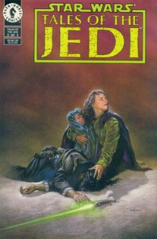 Cover of Star Wars: Tales of the Jedi (1993 Ltd) #3. One of 250,000 Vintage American Comics on sale from Krypton!