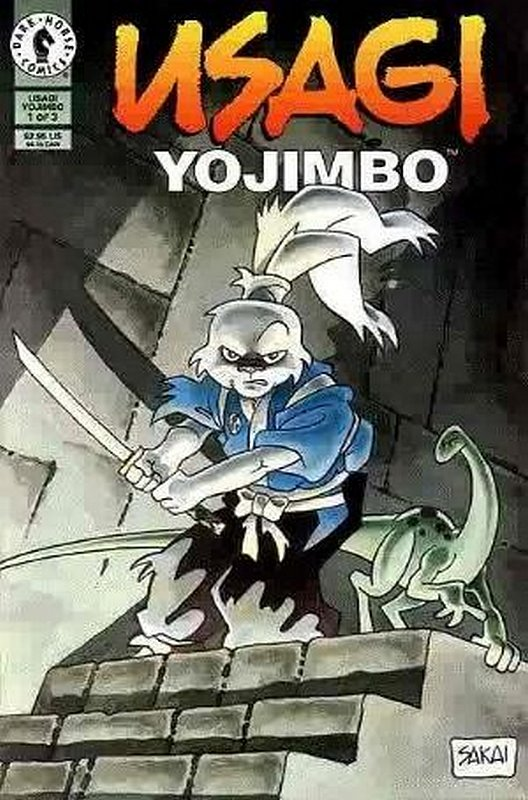 Cover of Usagi Yojimbo (Vol 2) #1. One of 250,000 Vintage American Comics on sale from Krypton!