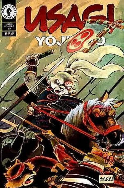 Cover of Usagi Yojimbo (Vol 2) #10. One of 250,000 Vintage American Comics on sale from Krypton!