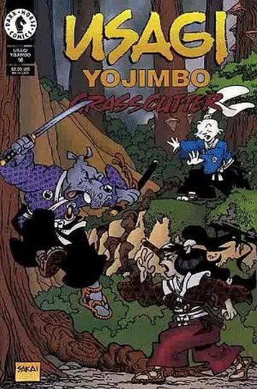 Cover of Usagi Yojimbo (Vol 2) #16. One of 250,000 Vintage American Comics on sale from Krypton!