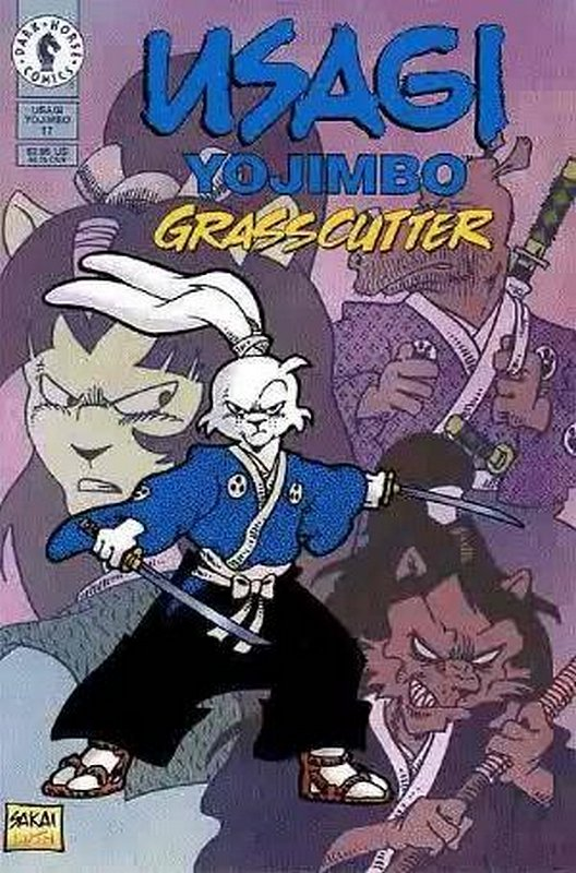 Cover of Usagi Yojimbo (Vol 2) #17. One of 250,000 Vintage American Comics on sale from Krypton!