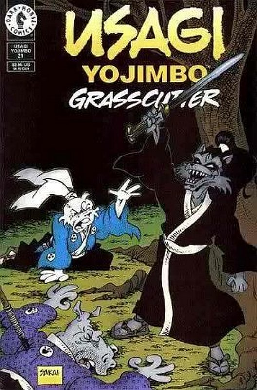 Cover of Usagi Yojimbo (Vol 2) #21. One of 250,000 Vintage American Comics on sale from Krypton!