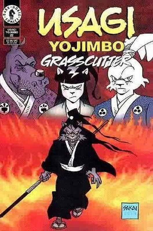 Cover of Usagi Yojimbo (Vol 2) #22. One of 250,000 Vintage American Comics on sale from Krypton!