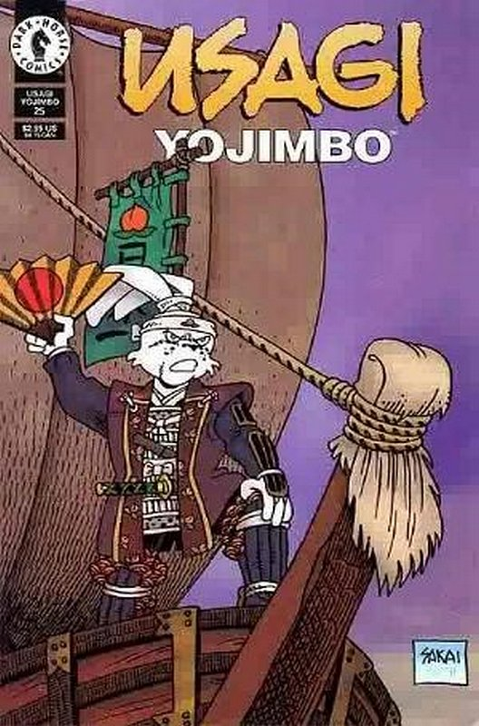 Cover of Usagi Yojimbo (Vol 2) #25. One of 250,000 Vintage American Comics on sale from Krypton!