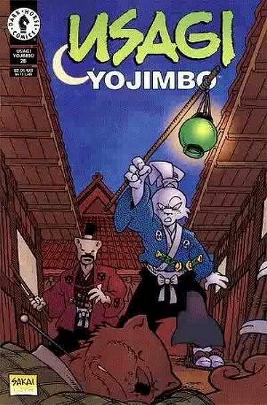 Cover of Usagi Yojimbo (Vol 2) #26. One of 250,000 Vintage American Comics on sale from Krypton!