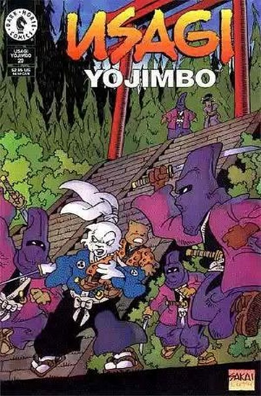 Cover of Usagi Yojimbo (Vol 2) #29. One of 250,000 Vintage American Comics on sale from Krypton!