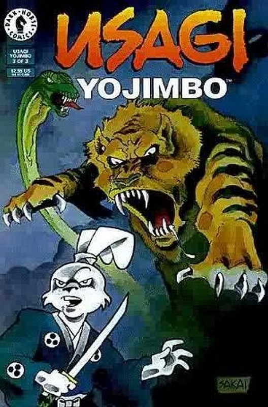 Cover of Usagi Yojimbo (Vol 2) #3. One of 250,000 Vintage American Comics on sale from Krypton!