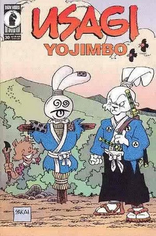 Cover of Usagi Yojimbo (Vol 2) #30. One of 250,000 Vintage American Comics on sale from Krypton!