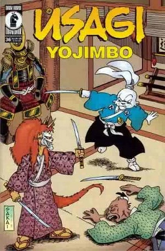 Cover of Usagi Yojimbo (Vol 2) #36. One of 250,000 Vintage American Comics on sale from Krypton!