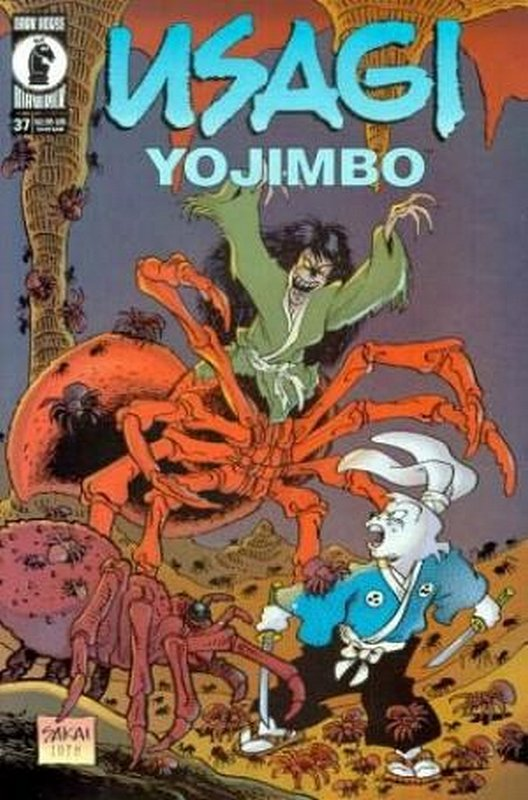 Cover of Usagi Yojimbo (Vol 2) #37. One of 250,000 Vintage American Comics on sale from Krypton!