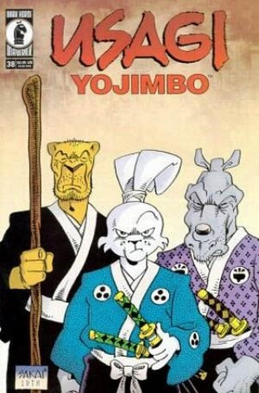 Cover of Usagi Yojimbo (Vol 2) #38. One of 250,000 Vintage American Comics on sale from Krypton!