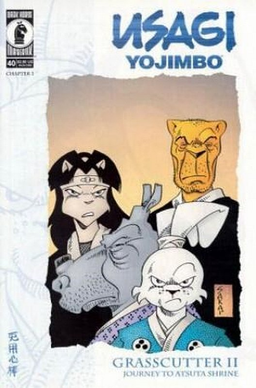 Cover of Usagi Yojimbo (Vol 2) #40. One of 250,000 Vintage American Comics on sale from Krypton!