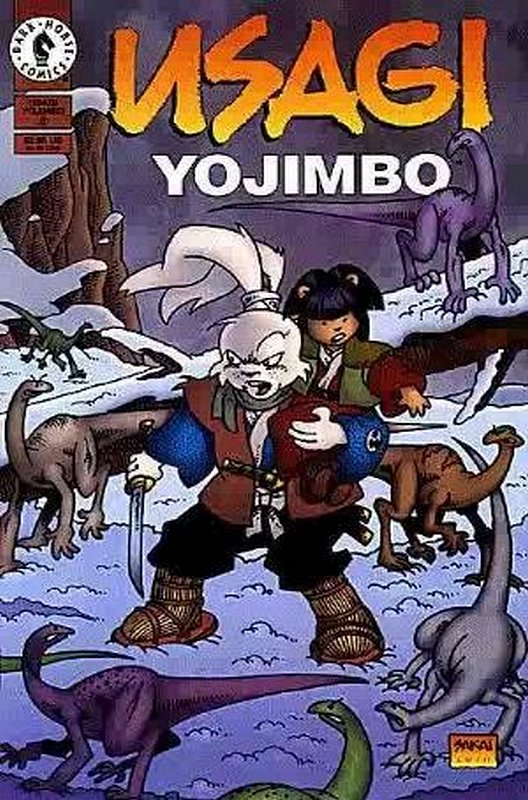 Cover of Usagi Yojimbo (Vol 2) #8. One of 250,000 Vintage American Comics on sale from Krypton!