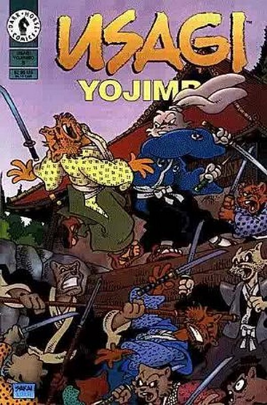 Cover of Usagi Yojimbo (Vol 2) #9. One of 250,000 Vintage American Comics on sale from Krypton!