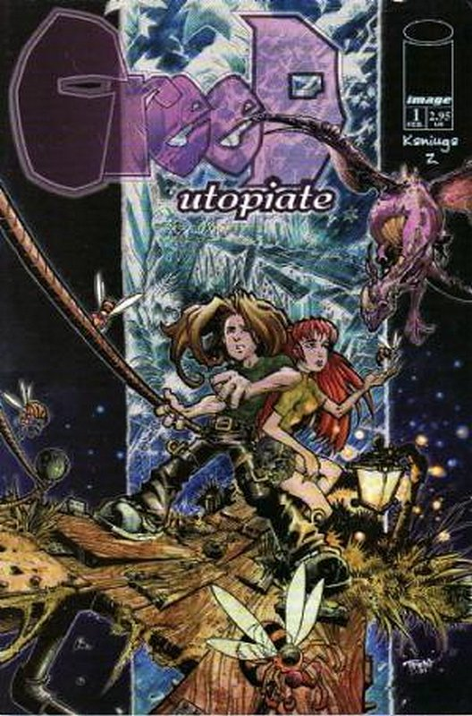 Cover of Creed: Utopiate (2002 Ltd) #1. One of 250,000 Vintage American Comics on sale from Krypton!
