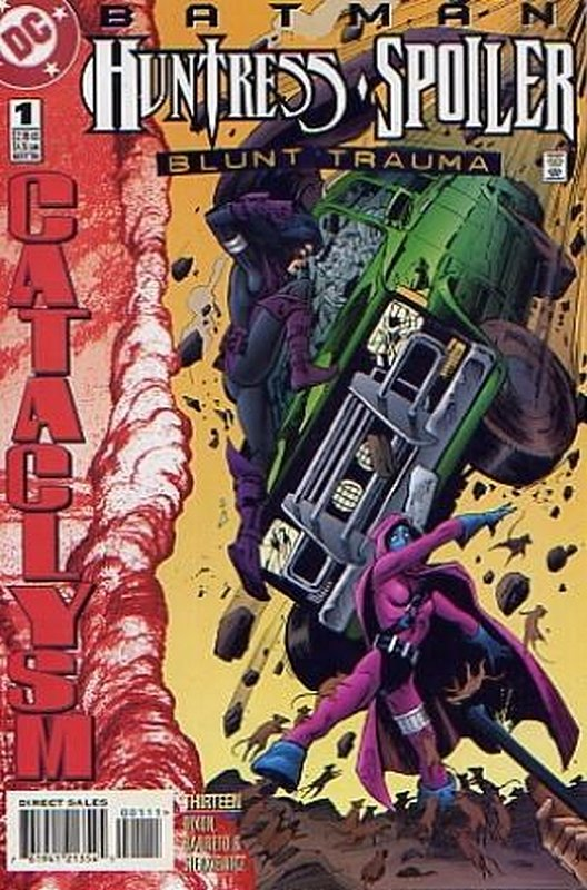 Cover of Batman/Huntress/Spoiler: Blunt Trauma #1. One of 250,000 Vintage American Comics on sale from Krypton!